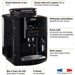 Acheter Machine à Café à Grain Krups Essential YY8135FD