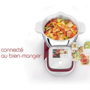 Robot de Cuisine Multicuiseur Intelligent Moulinex I-Companion Touch XL HF934510 au meilleur prix
