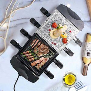 Acheter Appareil à raclette Multifonction 3 en 1 Leogreen
