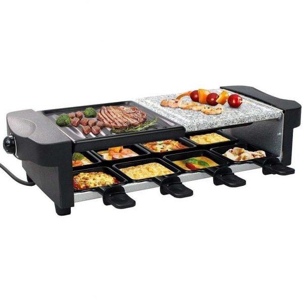 Appareil à raclette Multifonction 3 en 1 Leogreen