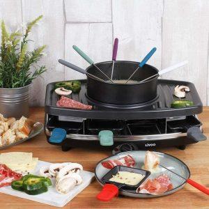 Appareil à raclette Multifonction 3 en 1 Livoo DOC233 au meilleur prix