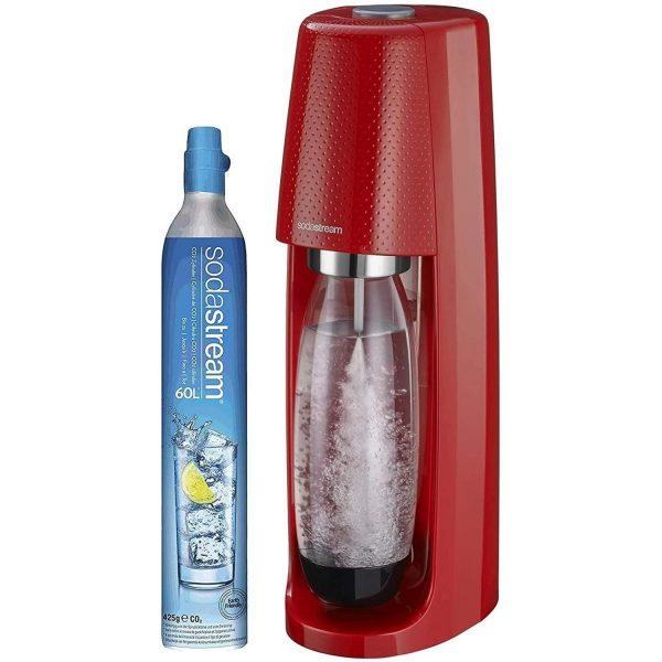 Machine à Eau Gazeuse Sodastream Spirit Rouge