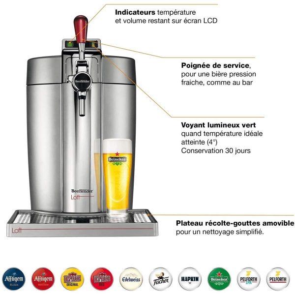 Acheter Tireuse à Bière Krups Beertender VB700E00